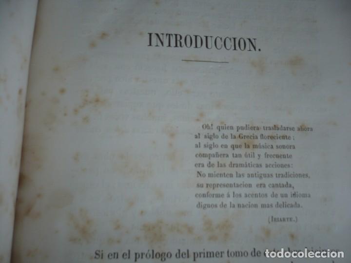 Libros antiguos: 2/ 4 TOMOS HISTORIA DE LA MUSICA ESPAÑOLA DESDE LOS FENICIOS HASTA 1850 MARIANO SORIANO 1856 MADRID - Foto 17 - 172576063