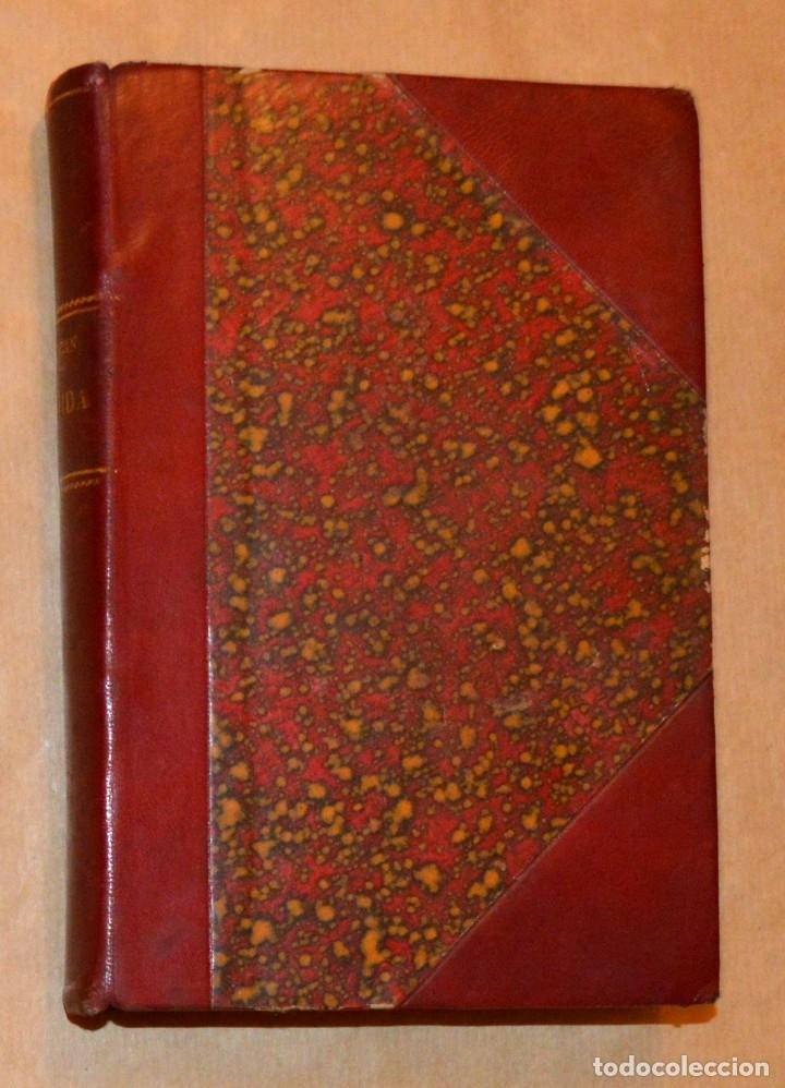 ISADORA DUNCAN - MI VIDA - BELLAMENTE ENCUADERNADO EN CUERO GRANA Y ORO - 1929 CENIT (Libros Antiguos, Raros y Curiosos - Bellas artes, ocio y coleccion - Música)
