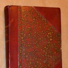 Libros antiguos: ISADORA DUNCAN - MI VIDA - BELLAMENTE ENCUADERNADO EN CUERO GRANA Y ORO - 1929 CENIT. Lote 172715095