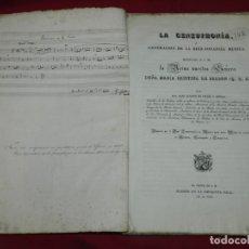 Libros antiguos: (MF) JOSEF JOAQUIN DE VIRUÉS - LA GENEUPHONIA O GENERACION DE LA BIEN-SONANCIA MÚSICA 1831. Lote 172769804