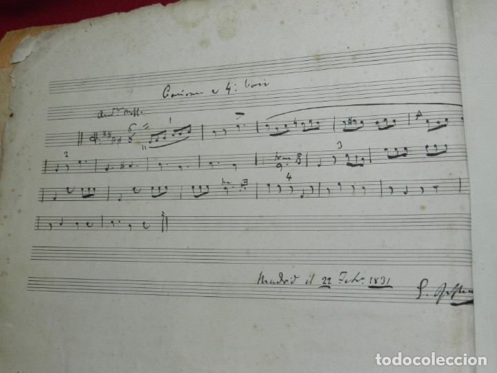 Libros antiguos: (MF) Josef Joaquin de Virués - La Geneuphonia o generacion de la bien-sonancia Música 1831 - Foto 3 - 172769804