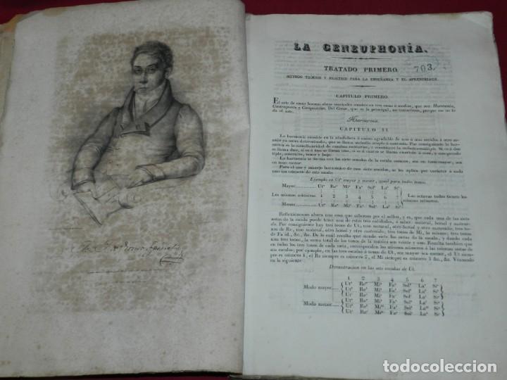 Libros antiguos: (MF) Josef Joaquin de Virués - La Geneuphonia o generacion de la bien-sonancia Música 1831 - Foto 5 - 172769804