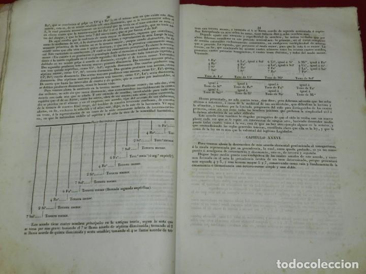 Libros antiguos: (MF) Josef Joaquin de Virués - La Geneuphonia o generacion de la bien-sonancia Música 1831 - Foto 7 - 172769804