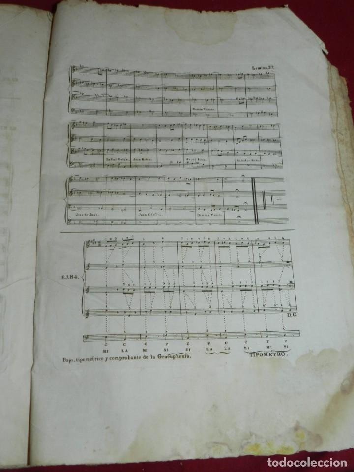 Libros antiguos: (MF) Josef Joaquin de Virués - La Geneuphonia o generacion de la bien-sonancia Música 1831 - Foto 15 - 172769804