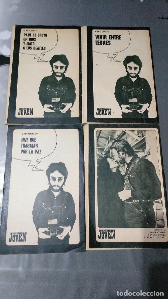 Libros antiguos: JOHN LENNON LO CUENTA TODO - MUNDO JOVEN - COMPLETO - Foto 2 - 174047075