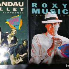 Libros antiguos: SPANDAU BALLET Y ROXY MUSIC - 2 LIBROS - VIDEO ROCK-SALVAT - NUEVOS. Lote 174047583