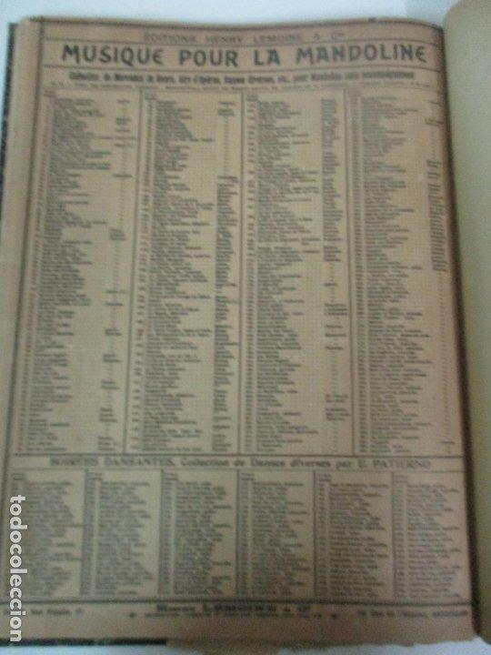 Libros antiguos: MÉTODO DE MANDOLINA - Por F. de Cristofaro - Ed. Enrique Lemoine y Cª - Con ilustraciones a b/n - Foto 5 - 174118907