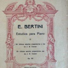 Libros antiguos: PIEZAS PARA PIANO . Lote 174377029