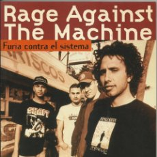 Libros antiguos: LIBRO DE RAGE AGAINST THE MACHINE EDITORIAL LA MÁSCARA. Lote 175321674