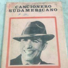 Libros antiguos: CARLOS GARDEL. CANCIONERO SUDAMERICANO.LIBRO 1976, TANGOS DE LA ERA DORADA. Lote 175476437