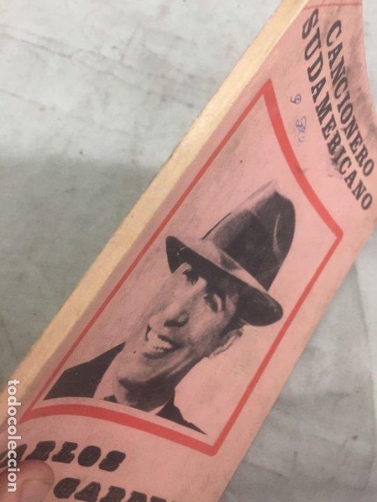 Libros antiguos: CARLOS GARDEL. CANCIONERO SUDAMERICANO.LIBRO 1976, tangos de la era dorada - Foto 2 - 175476437
