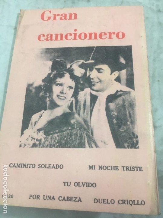 Libros antiguos: CARLOS GARDEL. CANCIONERO SUDAMERICANO.LIBRO 1976, tangos de la era dorada - Foto 13 - 175476437