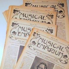 Libros antiguos: MUSICAL EMPORIUM NÚM. 31 A 40 (AÑO 1911 COMPLETO) - BARCELONA 1911. Lote 176043683