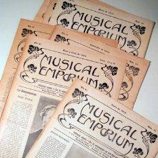 Libros antiguos: MUSICAL EMPORIUM NÚM. 51 A 60 (AÑO 1913 COMPLETO) - BARCELONA 1913. Lote 176043713