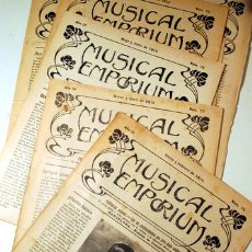 Libros antiguos: MUSICAL EMPORIUM NÚM. 71 A 74 (AÑO 1915 COMPLETO) - BARCELONA 1915. Lote 176043723