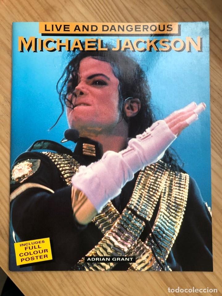 REVISTA LIVE AND DANGEROUS MICHAEL JACKSON (Libros Antiguos, Raros y Curiosos - Bellas artes, ocio y coleccion - Música)