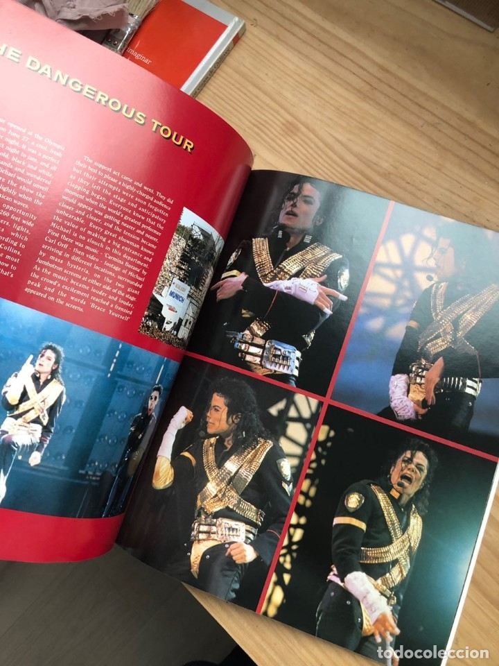 Libros antiguos: Revista Live and Dangerous Michael Jackson - Foto 6 - 176446212