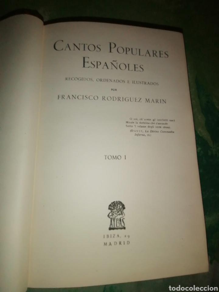 Libros antiguos: CANTOS POPULARES ESPAÑOLES. 1882. 5 VOLS. - Foto 11 - 177008284