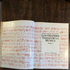 Libros antiguos: GRANDES TEMAS DE LA MÚSICA --TOMO 1(13€). Lote 177683819