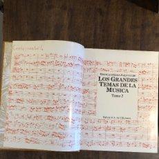 Libros antiguos: GRANDES TEMAS DE LA MÚSICA --TOMO 2(13€). Lote 177683850