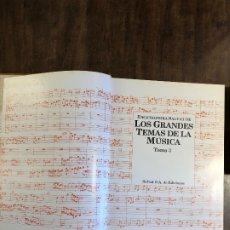 Libros antiguos: GRANDES TEMAS DE LA MÚSICA --TOMO 3(13€). Lote 177683895