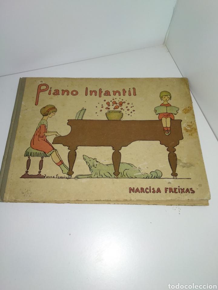 PIANO INFANTIL, PERMITES RECREACIONS PER INFANTS, NARCISA FREIXAS (Libros Antiguos, Raros y Curiosos - Bellas artes, ocio y coleccion - Música)