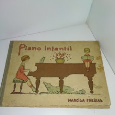 Libros antiguos: PIANO INFANTIL, PERMITES RECREACIONS PER INFANTS, NARCISA FREIXAS. Lote 178720332