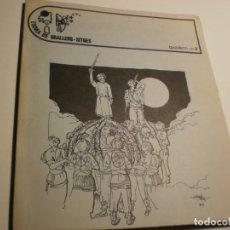 Libros antiguos: ESCOLA DE GRALLERS DE SITGES. QUADERN Nº 3. 1982. 119 PÀG (SEMINOU). Lote 180428096