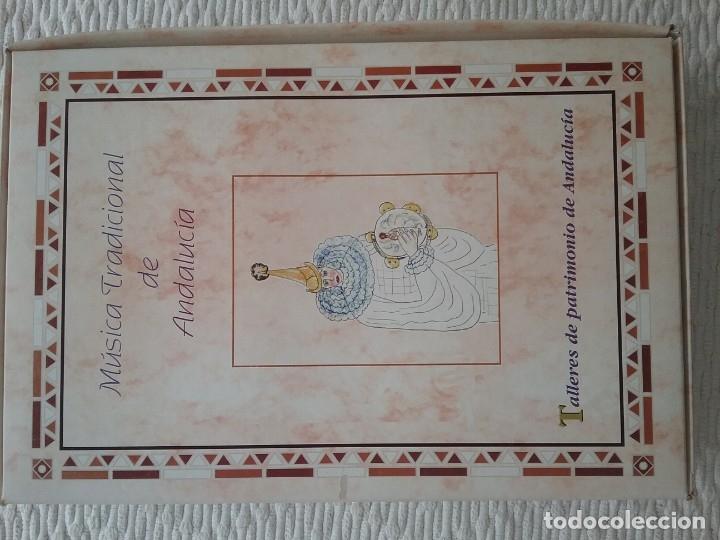 MÚSICA TRADICIONAL DE ANDALUCÍA (Libros Antiguos, Raros y Curiosos - Bellas artes, ocio y coleccion - Música)