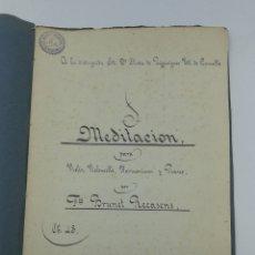 Libros antiguos: PARTITURA MANUSCRITA DE FRANCISCO BRUNET RECASENS 1894. Lote 181435742