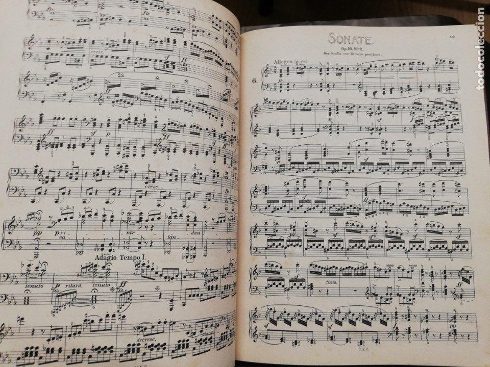 Libros antiguos: Sonatas L. Van Beethoven para piano. Partituras - Foto 3 - 181803778
