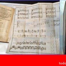 Libros antiguos: SIGLO XVIII: ROUSSEAU: DICCIONARIO DE MÚSICA. CON PARTITURAS DESPLEGABLES.. Lote 182356617