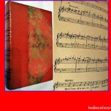 Libros antiguos: MÚSICOS DEL PASADO. ELEGANTE LIBRO ANTIGUO.. Lote 182582652
