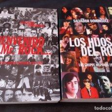 Libros antiguos: SALVADOR DOMÍNGUEZ; BIENVENIDO MR. ROCK Y LOS HIJOS DEL ROCK. Lote 182965105
