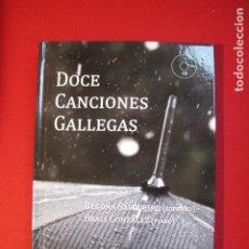 Libros antiguos: DOCE CANCIONES GALLEGAS - ANDAVIRA EDITORA (INCLUYE CD). Lote 186228432