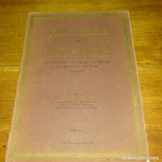 Libros antiguos: LIBRO HISTOIRE DU LOUVRE.LOUIS HAUTECCEUR.1200-1928.. Lote 187465511