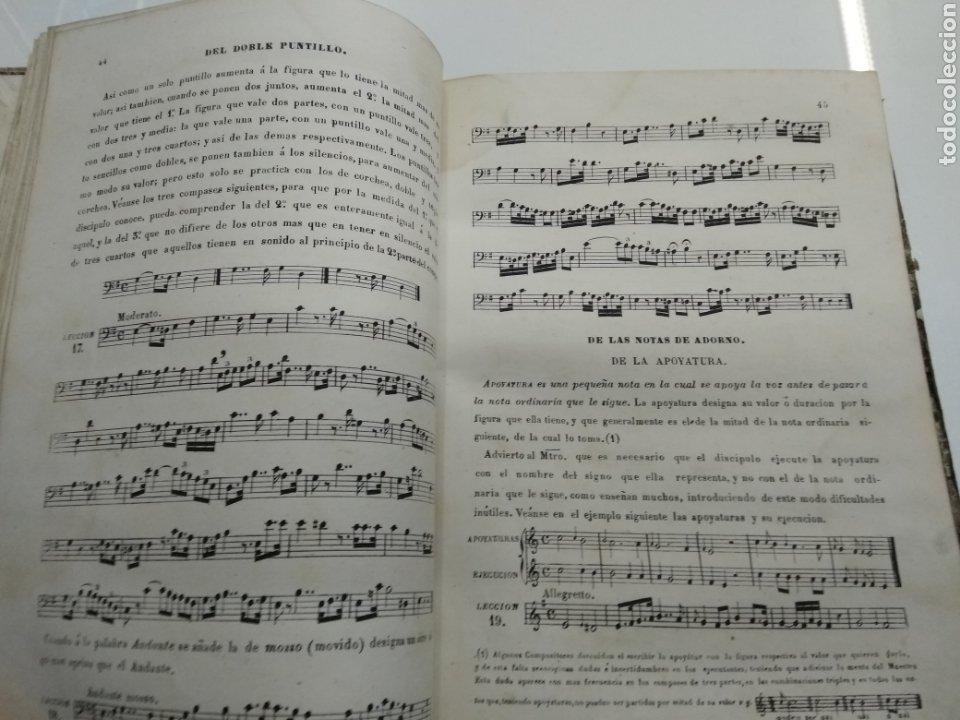 Libros antiguos: METODO DE SOLFEO COMPLETO POR DON HILARION ESLAVA 2° Edicion Completa Ca 1848 Rara Piel holandesa - Foto 7 - 189329698