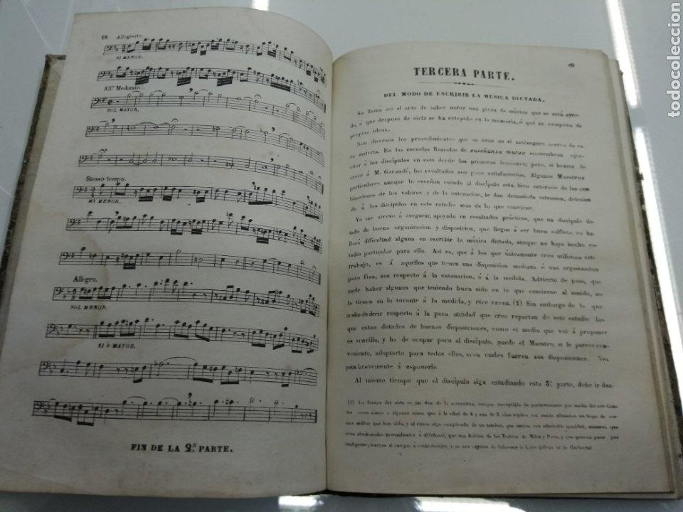 Libros antiguos: METODO DE SOLFEO COMPLETO POR DON HILARION ESLAVA 2° Edicion Completa Ca 1848 Rara Piel holandesa - Foto 8 - 189329698