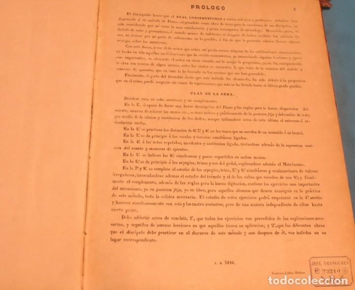 Libros antiguos: METODO COMPLETO DE PIANO , COMPUESTO POR D. JOSE ARANGUREN - Foto 6 - 189517106