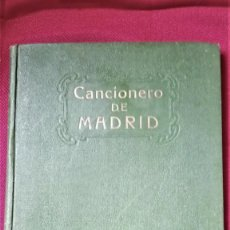 Libros antiguos: LIBRO,CANCIONERO DE MADRID,AÑO 1927,DE PILAR CARBONELL,VECINA DE OVIEDO,MUSICA TIPICA MADRILEÑA. Lote 189723497