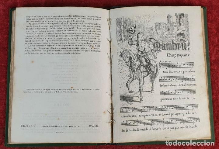 Libros antiguos: CANÇONER POPULAR CATALÁ. SEGUNDA SERIE. VARIOS AUTORES. VARIAS IMPRENTAS. 1907. - Foto 3 - 190229047