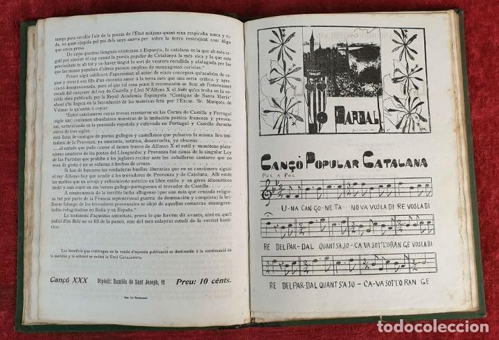 Libros antiguos: CANÇONER POPULAR CATALÁ. SEGUNDA SERIE. VARIOS AUTORES. VARIAS IMPRENTAS. 1907. - Foto 6 - 190229047
