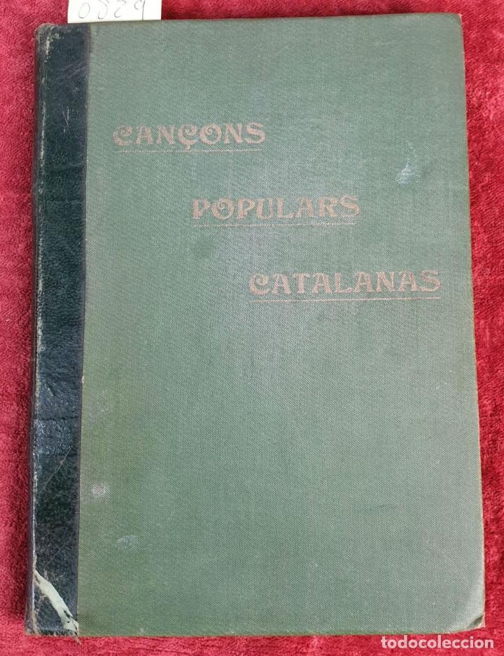 Libros antiguos: CANÇONER POPULAR CATALÁ. SEGUNDA SERIE. VARIOS AUTORES. VARIAS IMPRENTAS. 1907. - Foto 7 - 190229047