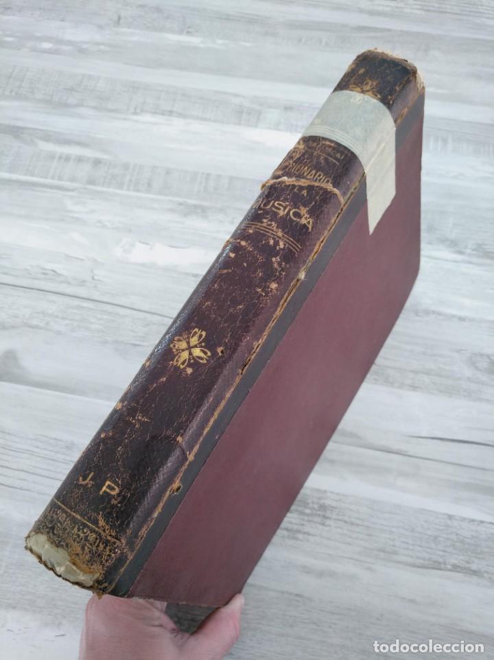 Libros antiguos: DICCIONARIO DE LA MÚSICA - OBRA DE LUISA LACÁL (AÑO 1900) - Foto 2 - 190529048