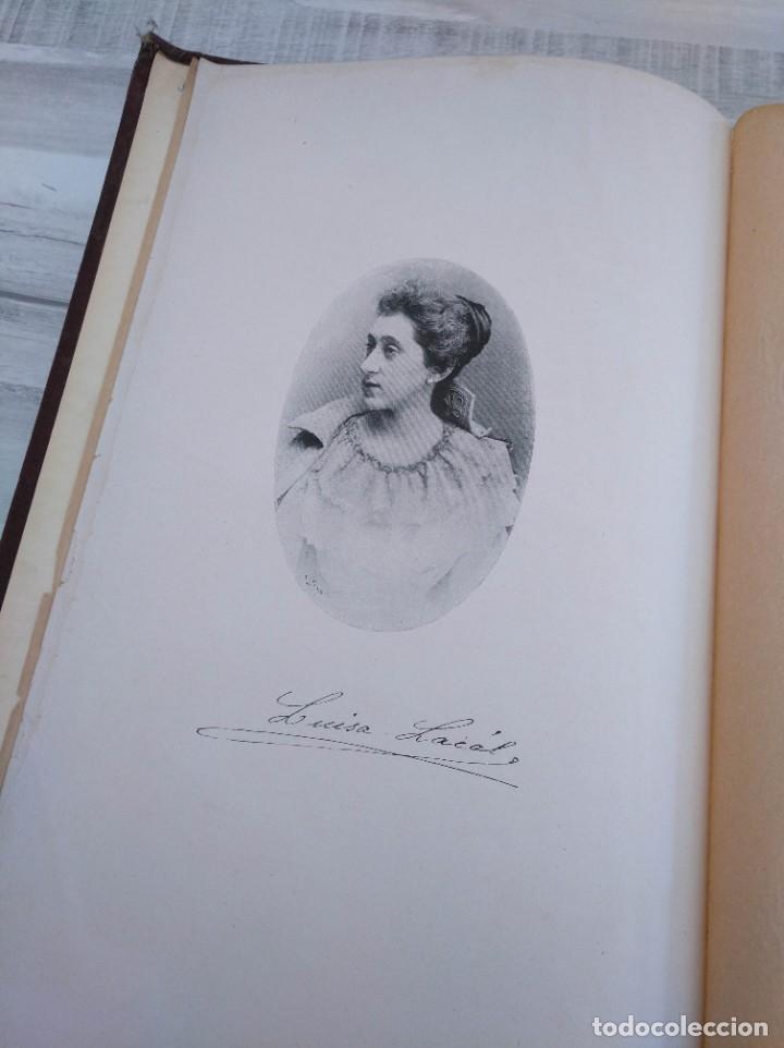 Libros antiguos: DICCIONARIO DE LA MÚSICA - OBRA DE LUISA LACÁL (AÑO 1900) - Foto 4 - 190529048