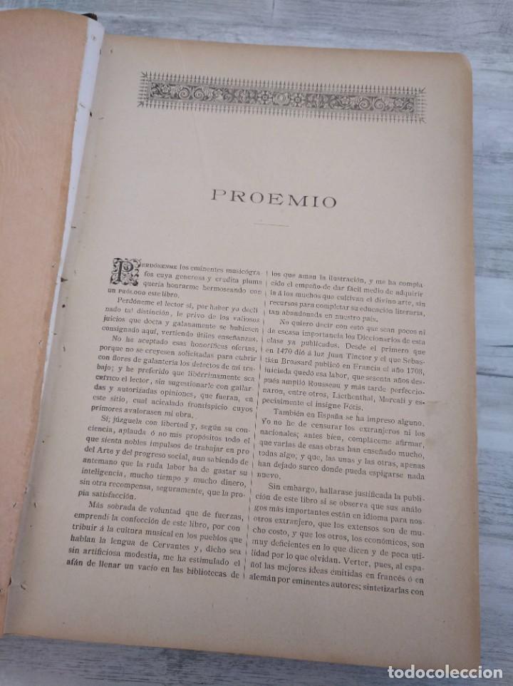 Libros antiguos: DICCIONARIO DE LA MÚSICA - OBRA DE LUISA LACÁL (AÑO 1900) - Foto 5 - 190529048