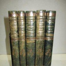 Libros antiguos: CANSONS DE LA TERRA. CANTS POPULARS CATALANS. BRIZ, FRANCESCH PELAY. 5 VOLS.. Lote 191169765