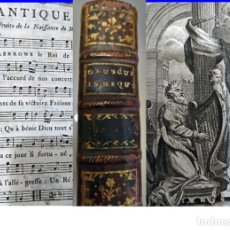Libros antiguos: AÑO 1772: LIBRO DEL SIGLO XVIII CON PARTITURAS Y CANCIONES.. Lote 191393738