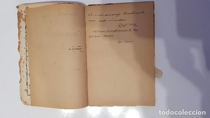 Libros antiguos: CANCIONES Y CUPLÉS. RAMIRO RUIZ RAFFLES 1925 FIRMADO Y DEDICADO POR EL AUTOR - Foto 3 - 193375951