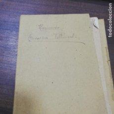 Libros antiguos: ESTUDIOS DE HARMONIA. V. ARIN Y P. FONTANILLA. CONSERVATORIO DE MUSICA Y DECLAMACION. CURSO 1º. . Lote 193889332